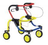 Детские ходунки с сиденьем и передними стопорами