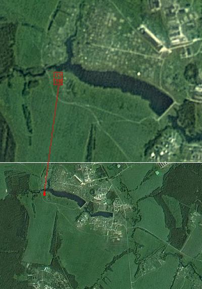 Участки на берегу озера, 58 км. от МКАД